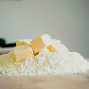 Harina y mantequilla