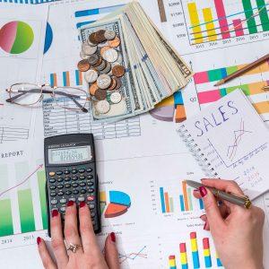 Calculadora y documentos