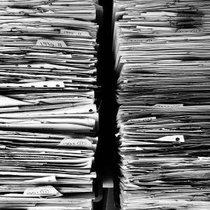 Pilas de documentos