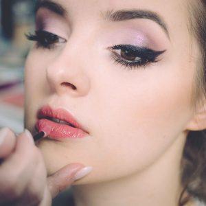 Chica maquillada
