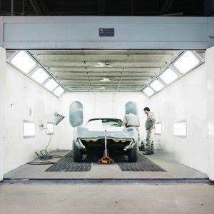 Imagen de taller de automóviles